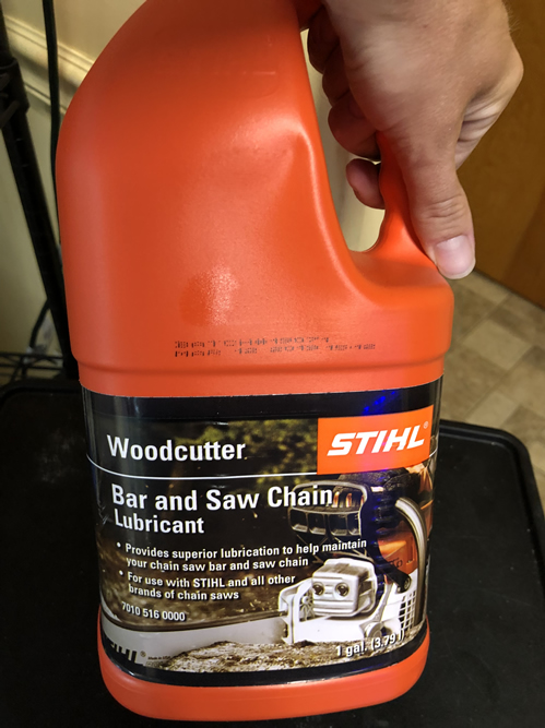 Bar and Saw Chain Lubricant